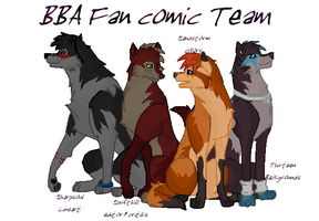 BBA Fan comic Team - Colors by SophieReicher