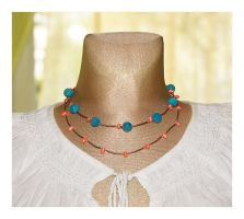 Necklace N92 by AnnAntonina