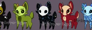 Maskee Adoptables [Only 1 OPEN!!] by Prince-Ego