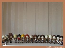 Commission: Attack on Titan by Yuki87