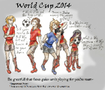 2014 World Cup (Scarlet Shadows Style) by AlexandeNight