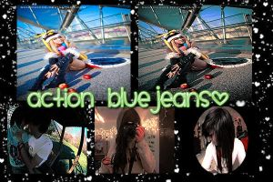 Action Bluejeans by RainbowPS