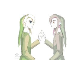 A Link between Worlds- Doodle by Kim-SukLey