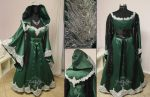 Royal Slytherin Gown by Lillyxandra