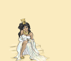 Nephthys by AngelPapillon