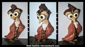 10'th Doctor owl by Mad-Hattie