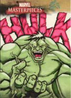 Marvel Masterpieces Hulk 1 by MJTannacore