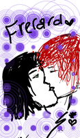 First Time Drawing Frerard by bandgeeks1234