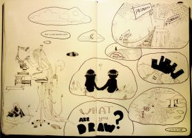 .what are u draw by Kler-z