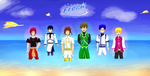 Free! Eternal Swim Chronicle - Childhood Prologue by Gold-Ignika