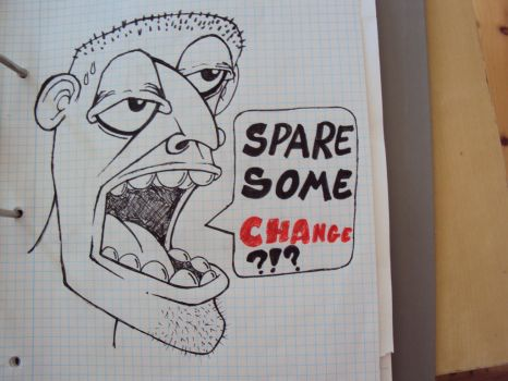 Spare Some Change? by Abmot
