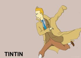 Tintin by Cartoon-punk