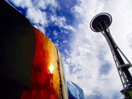 Seattle Reflections by rbompro1