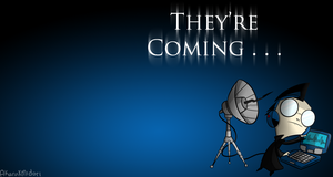 Dib Wallpaper - 'They're Coming . . .' by viscarla