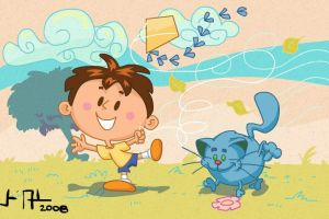 Leo and the kite by joseanderson