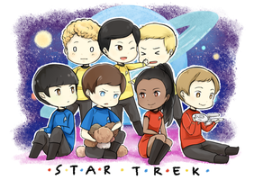 Star Trek by Sellleh