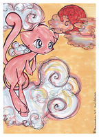 PKMN - Mew the phantom pokemon by Rewel