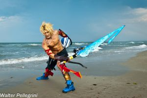 Leon Chiro as Tidus from FF Dissidia - RiminiComix by LeonChiroCosplayArt
