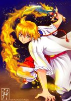 AT: Fiery Sword Fighter Alibaba by rae-shi