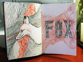 2011. Journal Doodles by mhebertfashion