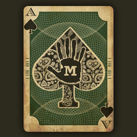 Ace of Spades Design by megapowerskills