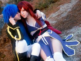 Jellal X Erza. Violet view. by MssMikan