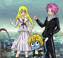 Fairy Tail x Noragami by Nalulover98