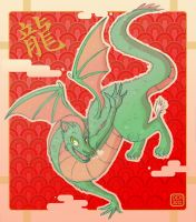 New Years Dragon-Dulcy by danee313