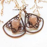 winter earrings - new tut by Lethe007
