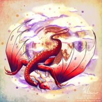 Red Dragon for Grace by HeatherHitchman