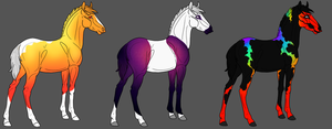 Colourful Foal Adopts by The-Halfway-House