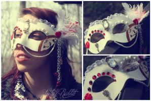 White Rabbit Mask by ladyhawk21