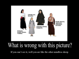 Islam in the eyes of the mindless sheep by DeMoN8EyE