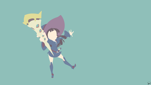 Kagari Atsuko {Little Witch Academia} by greenmapple17