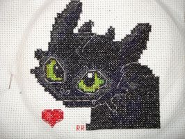 Toothless Version Two by AvalonReese