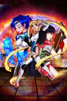 Sailor Moon SciFi by Codax