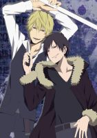 Izaya and Shizuo by TobiSenju