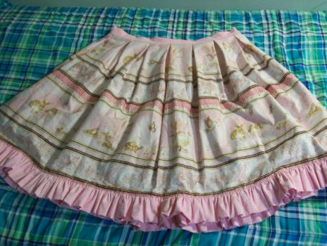 Classicly Sweet Lolita Skirt by CrimsonSparkles