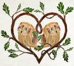 owl love by MaNoU56