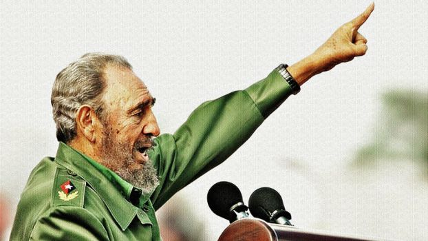 Fidel Castro by Quadraro