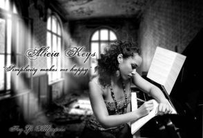 Alicia Keys Quote Wallpaper by by TheSayGi