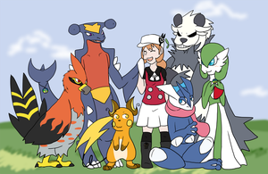 My Pkmn X-Team by Sixala