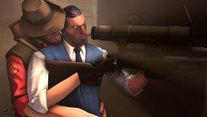 SFM Poster: Snipin's a Good Excuse -Remake- by PatrickJr