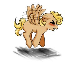 Fly, Sweet Lil' Buttercup! Version 1 by Wildnature03