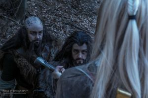 The Hobbit: Not just a thief, but a liar by essie-morbide