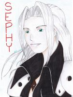 Sephiroth by fanchielover15