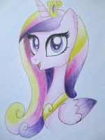 Princess Cadence by JellieLucy