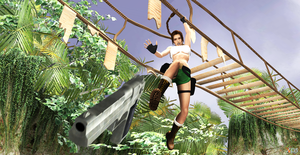Lara Adventures for Contest by ZayrCroft