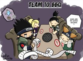 Team 10 BBQ by GuardianSpirit