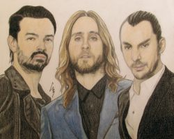 Thirty Seconds To Mars by BlackMeow